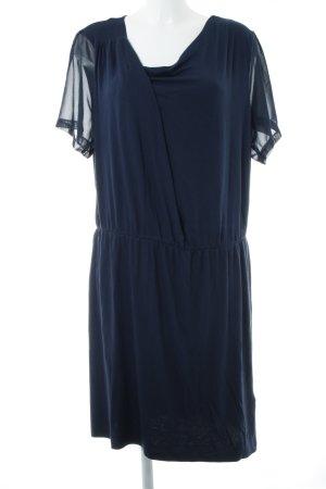 Junarose Jerseykleid dunkelblau Casual-Look