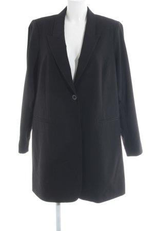 Junarose Long-Blazer schwarz Elegant