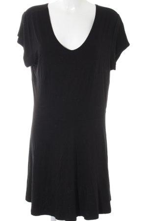 Junarose Longshirt schwarz Street-Fashion-Look