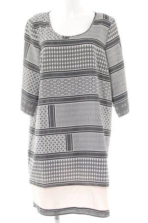 Junarose Midi-jurk Patroon-mengeling romantische stijl