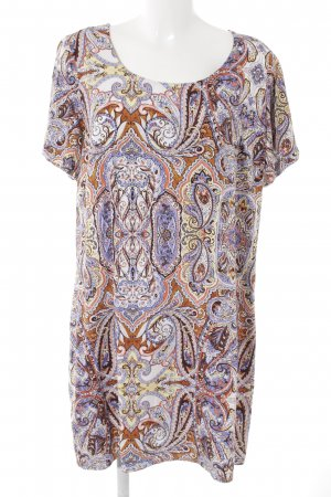 Junarose Shirtkleid Paisleymuster Casual-Look