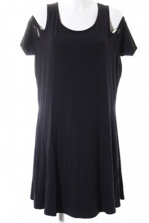 Junarose Shirtkleid schwarz Urban-Look