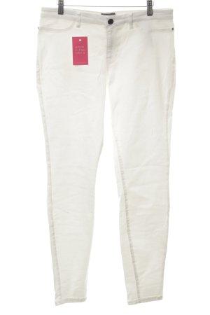Junarose Slim Jeans weiß Casual-Look