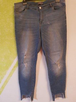 Junarose Jeans stretch bleu
