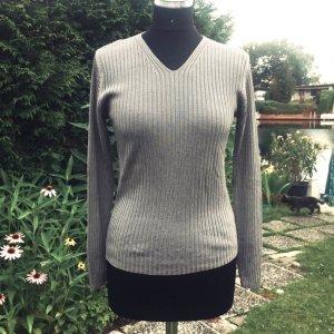 JUNE'S V-Pullover graubraun Gr. 38