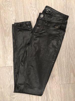 Comma Pantalón de tubo negro