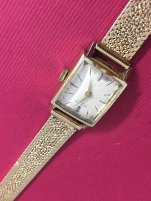 Junghans Erbstück 14 Karat Gold Luxus Sammler Stück für Kenner