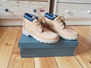 Timberland Ankle Boots beige leather