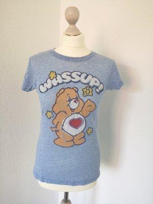 Junk Food Glücksbärchi Shirt Gr. S M 34 36 Care Bears