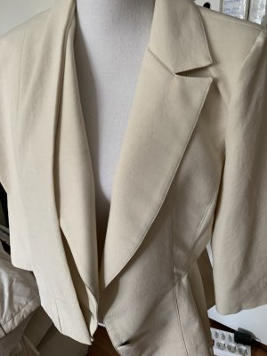 Alba Moda Trouser Suit natural white-white linen