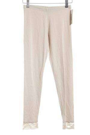 Jus d'Orange Leggings creme Romantik-Look
