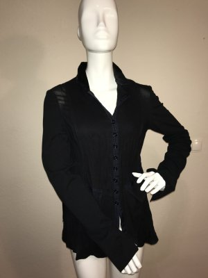 just B. Shirt Jacket black