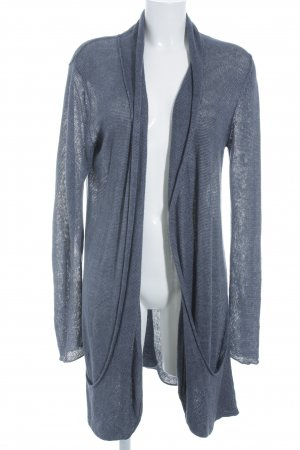 just B. Strickjacke graublau Casual-Look