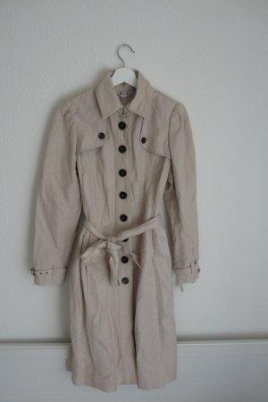 Just B Trenchcoat Mantel Jacke S M 36 38 *NEU* beige nude blumen bunt Fashion Style Blogger