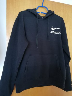 Just break it Hoodie Gr M