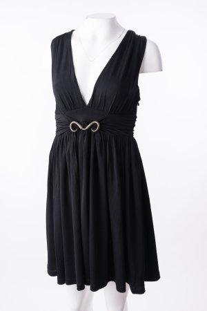 JUST CAVALLI - Ärmelloses Kleid mit Gürteldetail Schwarz
