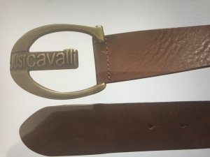 Just cavalli Leather Belt brown leather
