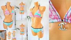 Just cavalli Bikini turchese