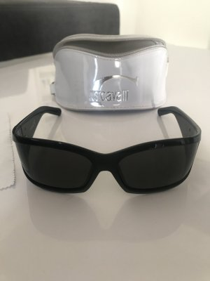 Just cavalli Oval Sunglasses black-silver-colored
