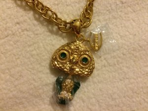 Just cavalli Collier oro-verde