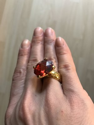 Just Cavalli Garnet Ring