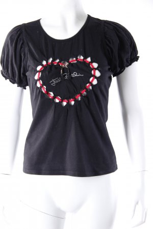 Just Cavalli Girlieshirt Herz-Cut-Out