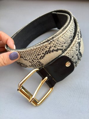 Just cavalli Fabric Belt black-light grey