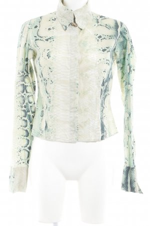 Just cavalli Hemd-Bluse Animalmuster Reptil-Optik