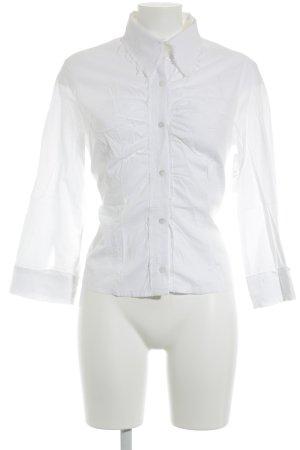 Just cavalli Hemd-Bluse weiß florales Muster Elegant