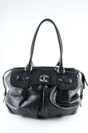 Just cavalli Carry Bag black-gold-colored street-fashion look