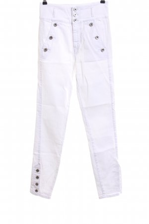Just cavalli High Waist Jeans weiß Casual-Look