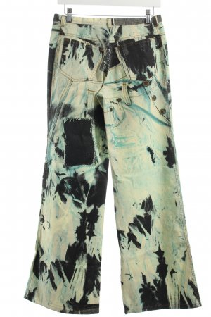 Just cavalli Trousers abstract print extravagant style