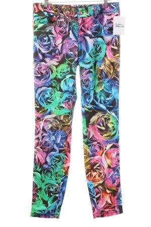 Just cavalli Hose florales Muster extravaganter Stil