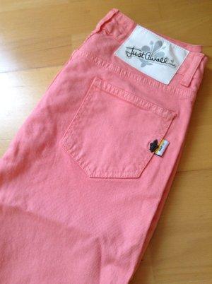 Just Cavalli Jeans Hose, rosa lachs, Gr. 27, neu