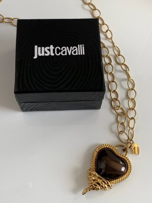 Just cavalli Collier Necklace gold-colored-brown metal