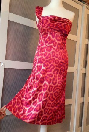 Just Cavalli Kleid IT42 36 Pink Leopard Rosa