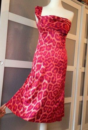 Just Cavalli Kleid IT42 36 Pink Leopard Rosa
