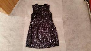JUST CAVALLI Kleid (NEU), dunkelblau, Pailetten, 46, mit Etikett, Designerkleid