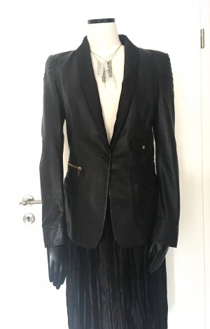 Just cavalli Blazer in pelle nero