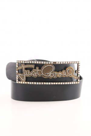 Just cavalli Leather Belt black elegant