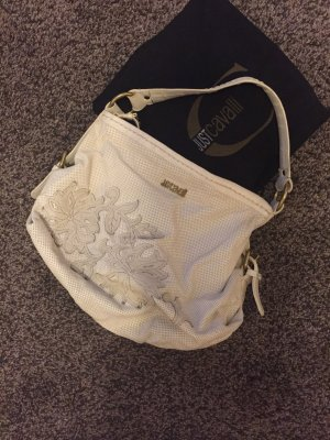 Just Cavalli LederTasche in Creme Top Zustand! NP 450€
