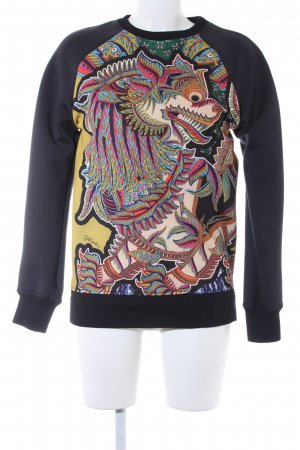 Just cavalli Oversized Pullover Motivdruck extravaganter Stil
