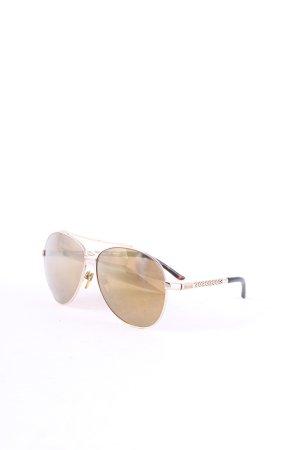 Just cavalli Pilot Brille goldfarben-schwarz extravaganter Stil