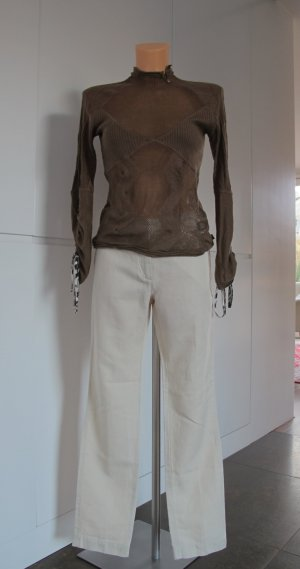 Just Cavalli Pullover Gr. 38 / it. Gr. 44 / in bronze/taupe