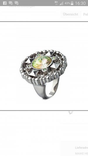 Just Cavalli Ring Rich Gr. 58