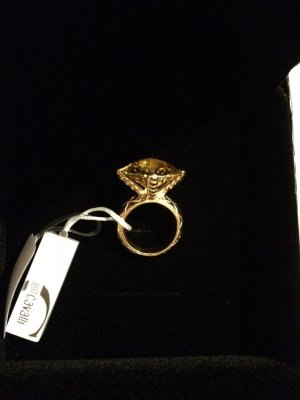 Just Cavalli Ring, vergoldet