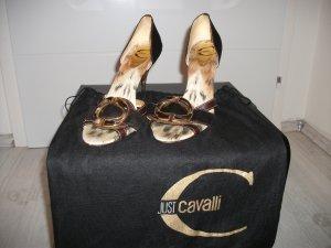 Cavalli High Heel Sandal bronze-colored-black brown