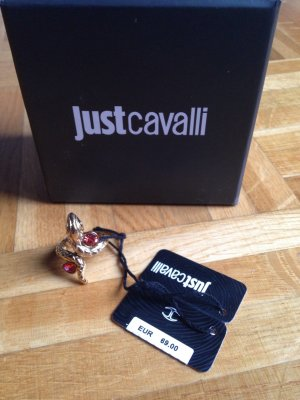 Just Cavalli Schlangenring vergoldet Gr 52