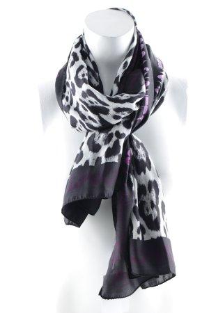 Just cavalli Zijden sjaal luipaardprint casual uitstraling