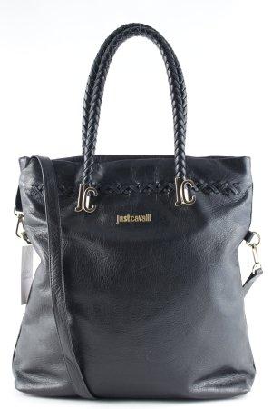 Just cavalli Shopper black simple style